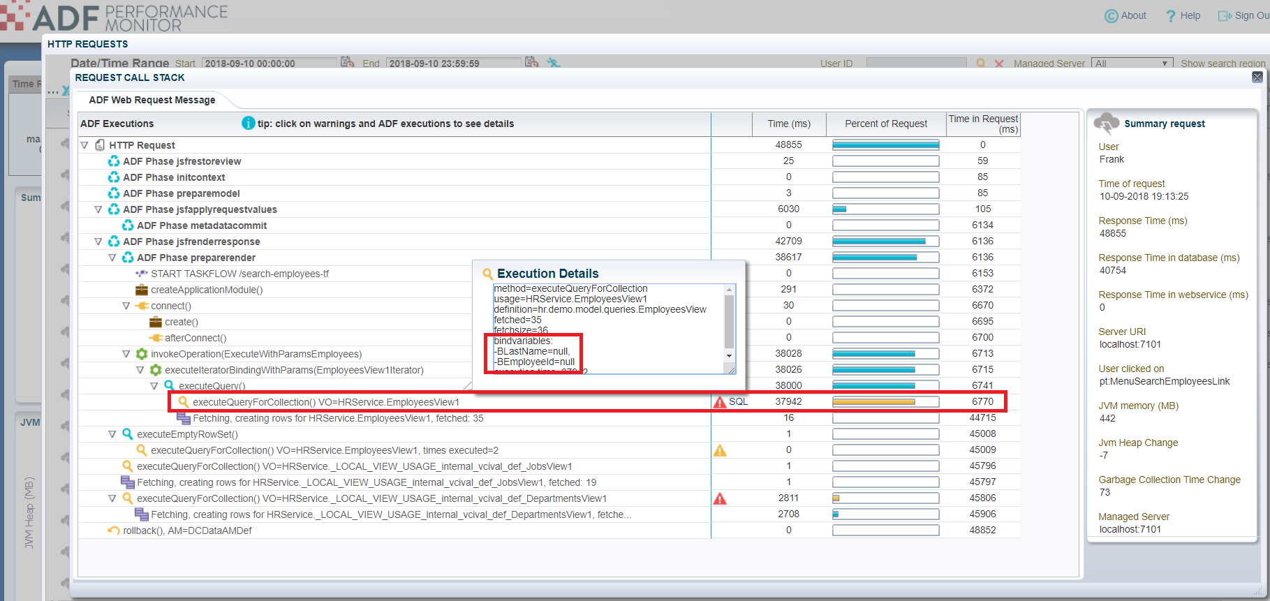 Oracle ADF Performance: Top 10 Typical Bottlenecks - ADF Performance